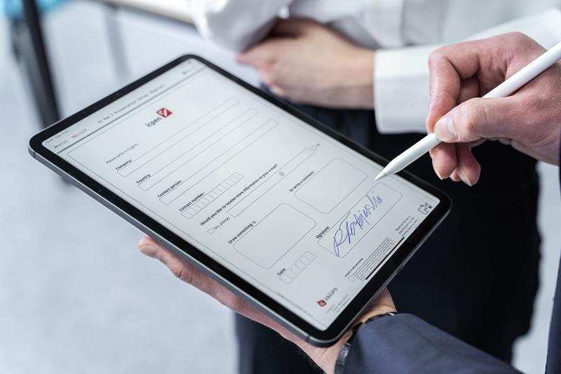 elektroniczne zgody pacjentów na tablecie